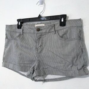 Forever 21 Womens Stretch Shorts Size 30 2.1 Denim